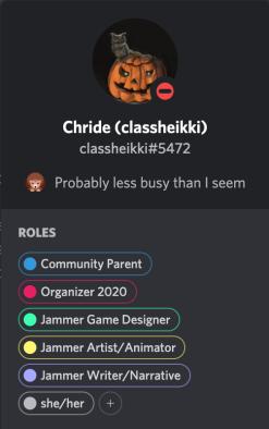 User's info